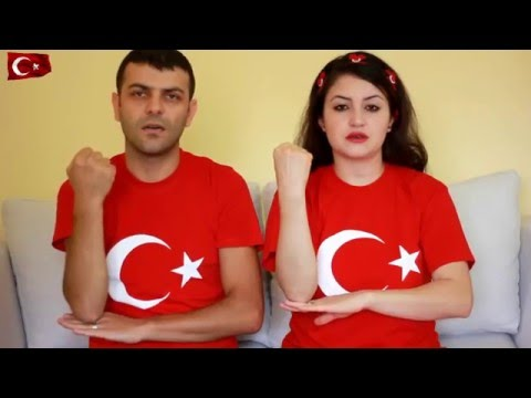 İşaret dili ile İstiklal Marşı | Mevlüt & Sevil