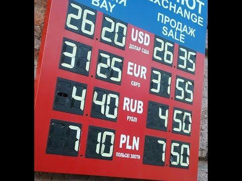 Польша. Про курс валют.