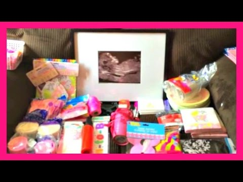 Baby Shower Supplies Haul Dollarama Dollar Tree And Walmart
