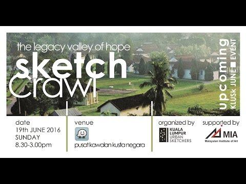 Kuala Lumpur Urban Sketchers - Valley of Hope Sketchcrawl