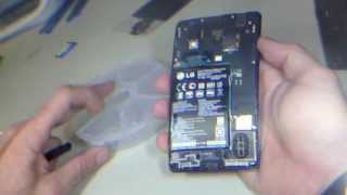 LG LS-970 E970 Optimus G  Screen LCD replacement Complete Process