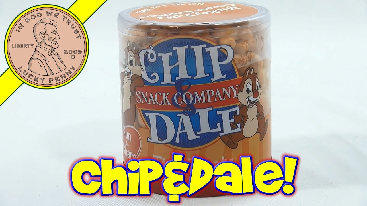 Disney Parks Exclusive Chip Dale Tiny Treats Mickey Mouse