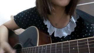 ギターちょいちょい間違ってますが 弾いてみました!
