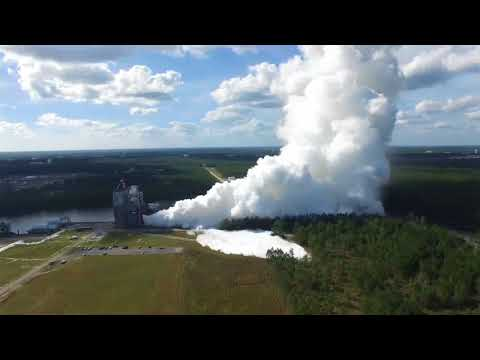Stunning Full-Duration NASA RS25 Engine Test with Background Info