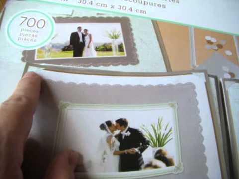 Martha Stewart Wedding Scrapbook Kit Youtube