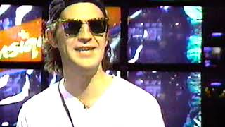 Ivan Doroschuk de Men Without Hats s'entretient avec Paul Beauregard (émission Dada Biz, 1991)