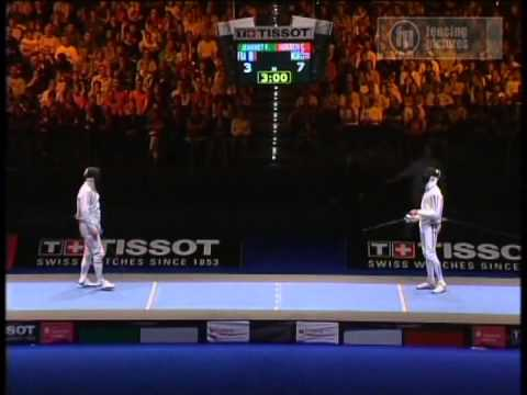 2005 World Fencing Championships, Men's Epee, Final Four