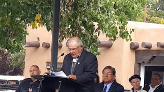 Santa Fe Indigenous Day Commemoration 2018Chairman Torres   AIPC