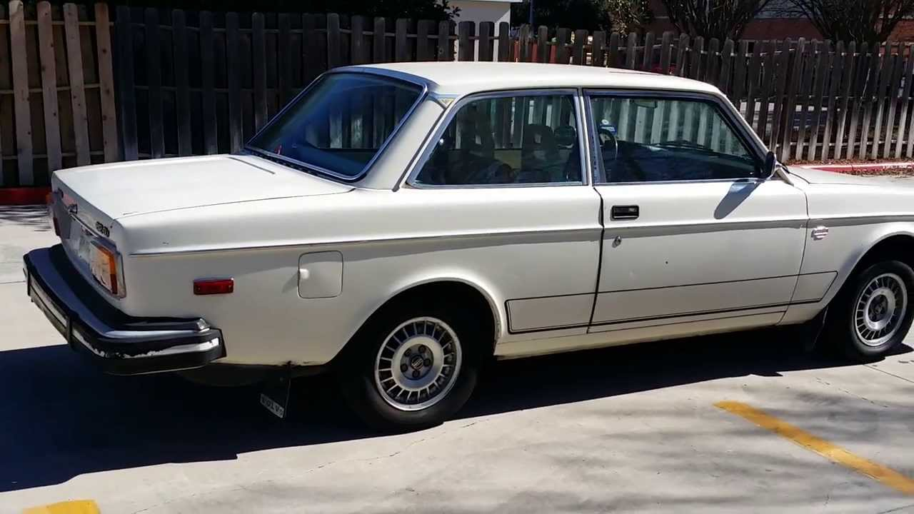 Volvo 242 dl California Special FOR SALE - YouTube