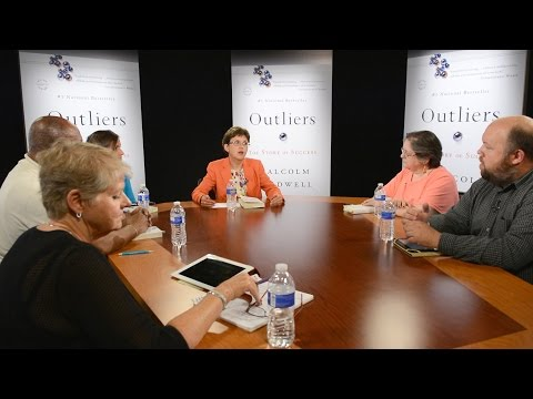 """Superintendent's Book Club Discussion--""""Outliers"""" Part 1: Opportunity"""