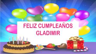 Gladimir   Wishes & Mensajes - Happy Birthday