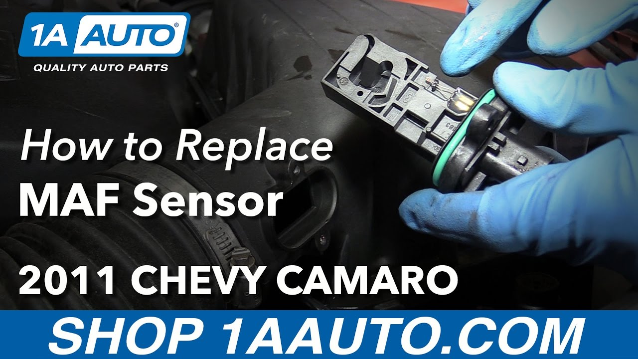 How To Install Replace Maf Sensor 2011 Chevy Camaro Youtube Gmc Iat Wiring Diagram