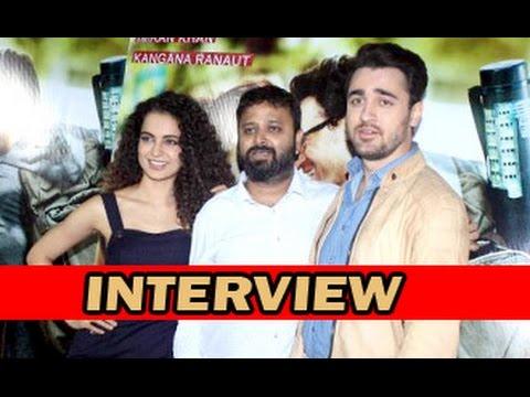 Kangana Ranaut, Imran Khan, Nikhil Advani Talk About 'Katti Batti' | Interview | Media Interaction