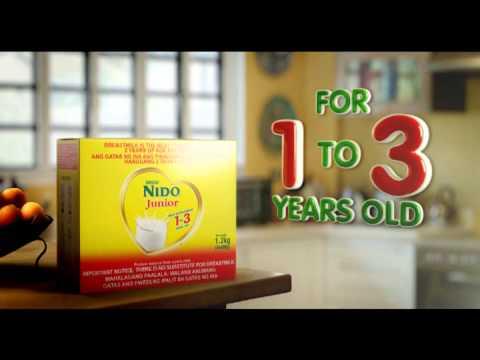 NIDO Jr. 2014 TVC - YouTube