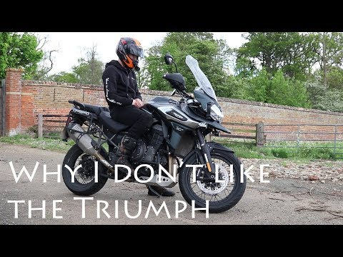 First ride Triumph