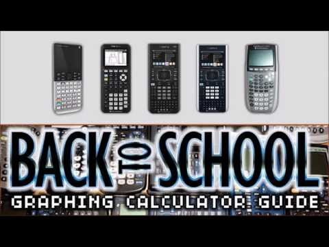 What Graphing Calculator Should I Buy? Back to School 2016 Guide