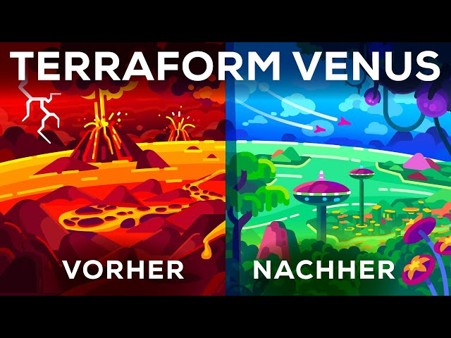 Lasst uns (mal eben) Venus terraformen!