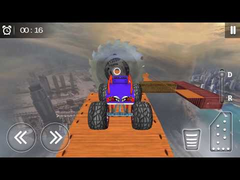 Monster Truck Racing - Monster Truck Stunt Game Gameplay Video Android/iOS