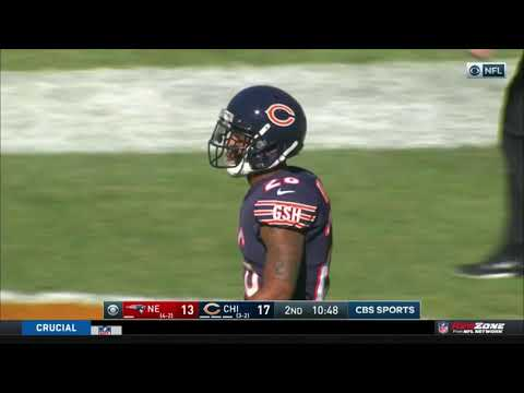 Corderelle Patterson 95 Yard Kickoff Return Touchdown   Patriots vs. Bears   NFL