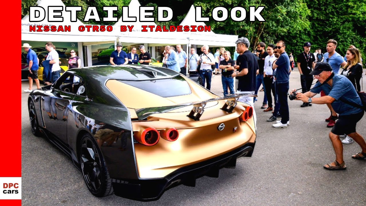 Nissan GTR50 by Italdesign Detailed Look - YouTube