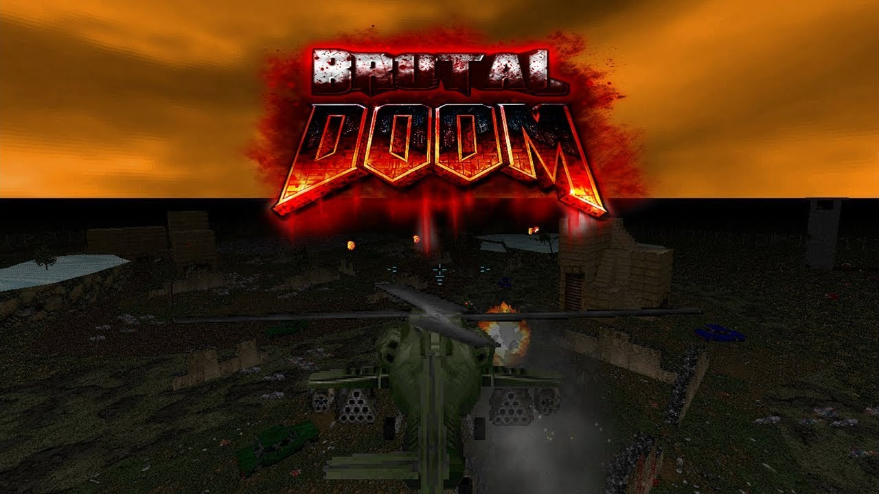 Brutal Doom v21 BETA | New weapons, NPC's, features + Military Vehicle