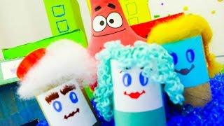 Патрик и замок из песка! Развивающее видео для детей
