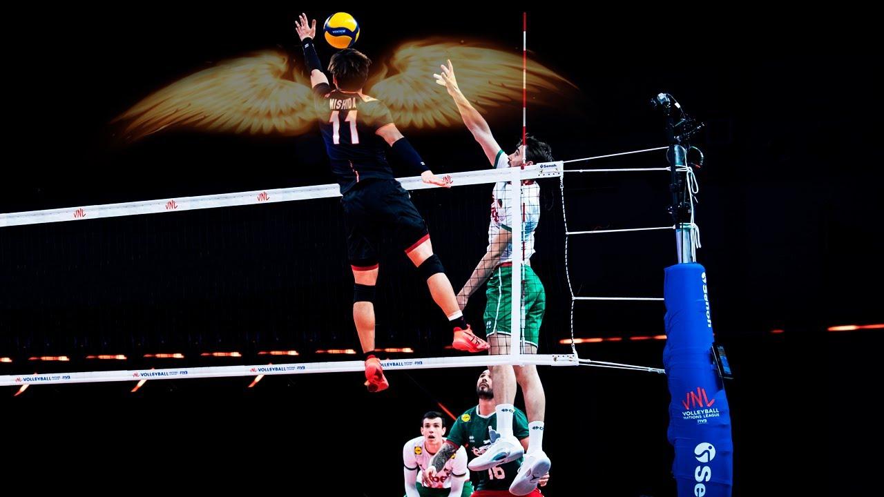 Yuji Nishida - I Believe I Can Fly | This vertical jump is just INSANE | HD