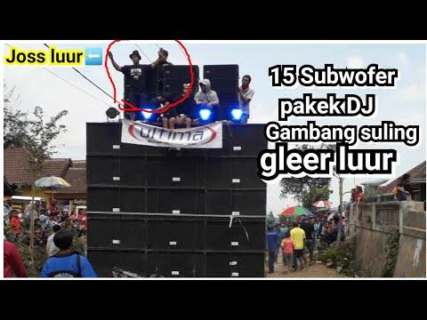 Inilah ULTIMA BLITAR 15 Sub Pake DJ Gambang Suling Di Kenongo