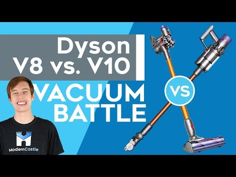Dyson V8 vs. V10 - Is Dyson's Newest Vacuum Worth $700?