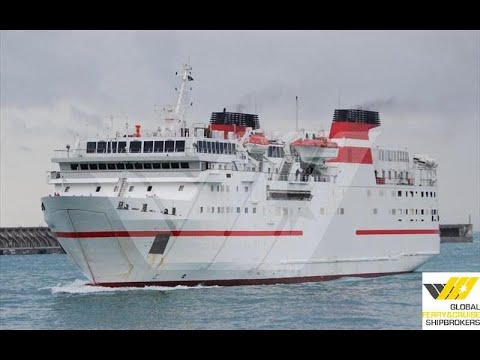 117m / 378 pax Passenger / RoRo Ship for Sale / #157F