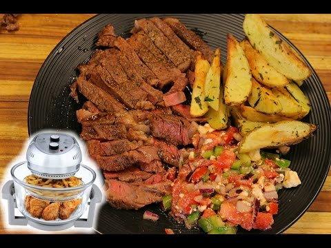 Airfryer Steak And Potatoes Air Fryer Recipes Cooking Best Air