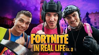 FORTNITE IN REAL LIFE /w Rezi, Friz, Leh + Ekstra sceny