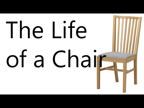 The Life of a Chair (Photographic Essay) - YouTube