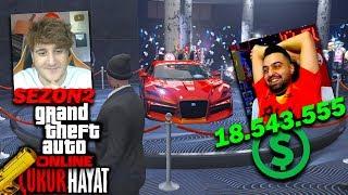 18.543.555$ CASINO SOYGUNU !! - Ümidi ile ÇUKURHAYAT GERİ DÖNDÜ !! (GTA 5 Online)