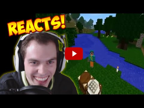 CHIMNEYSWIFT11 REACTS TO HIS FIRST VIDEO (4 Year Special)