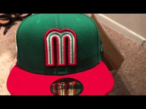 New era Mexican baseball hat 2017