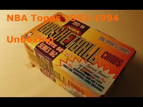 NBA Topps 1993-1994 | Breaking the Cards