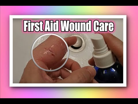 Best First Aid - How To Treat Open Wounds To Prevent Infection and Scars