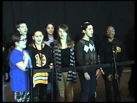 Consentino Middle School Chorus - U.S. National Anthem - March 5, 2016