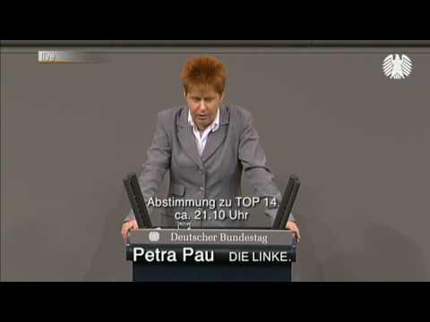 ELENA ist ein Stiefkind des Schicksals - Petra Pau im Bundestag