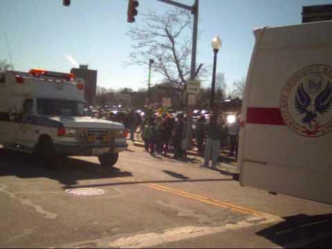 St Patrick's Day Parade Pawtucket RI 2010 # 5 vide...