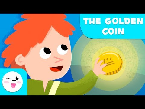 The Golden Coin -  A story about honesty