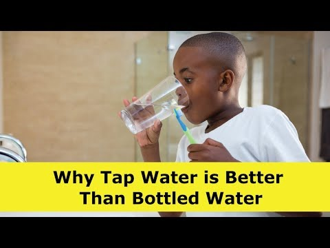 Why Tap Water is Better Than Bottled Water