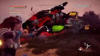 Horizon Zero Dawn - Lvl 32 RockBreaker Corrupted Zone