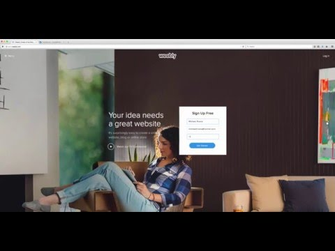 Create Free Landing Page 2016