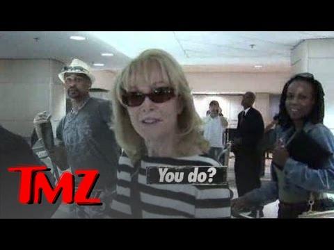 Barbara Eden Flashes the Goods -- I Dream of Jeannie | TMZ