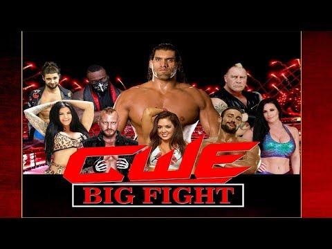 CWE Big FIGHT | The Great Khali Academy | Ambala Cantt. | Haryana