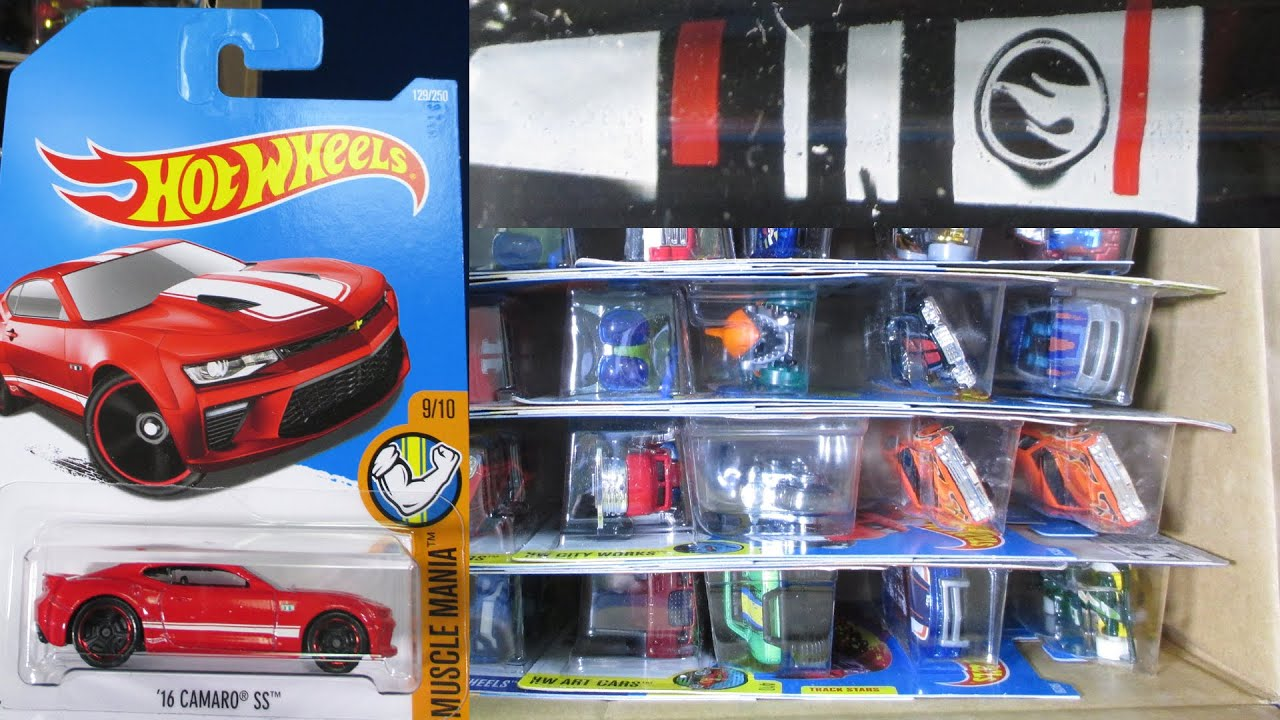 2016 Q WW Hot Wheels Factory Sealed Case Unboxing Video By ...