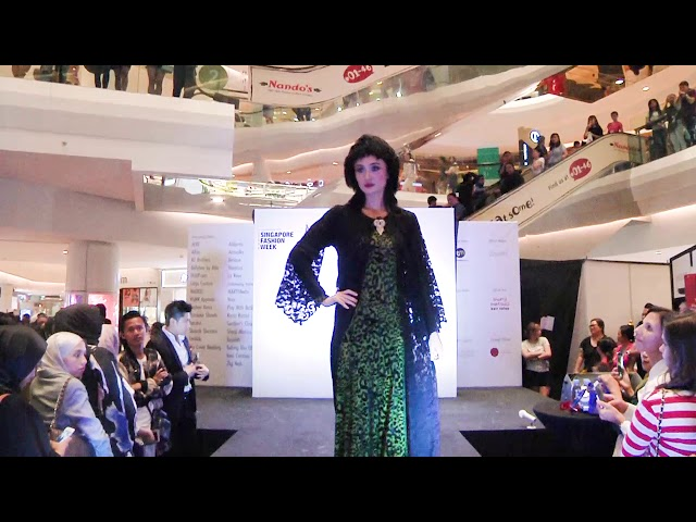 SINGAPORE FASHION WEEK 2017 - YANS CREATION