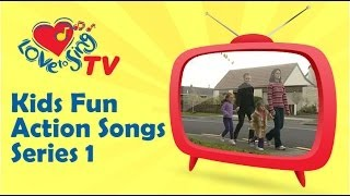 Children Love to Sing Songs | Kids Fun Action Songs Series 1